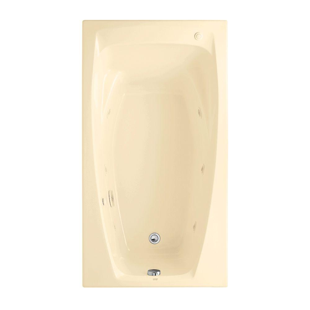 American Standard Colony 5 ft. Whirlpool Tub in Bone