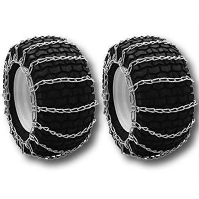 18 x9.5x 8 in. and 19 x 9.5 x 8 in. Tire Chains for Troy-Bilt Cub-Cadet Craftsman, Replaces Select MTD Models (Set of 2)