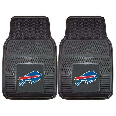 Buffalo Bills 18 in. x 27 in. 2-Piece Heavy Duty Vinyl Car Mat