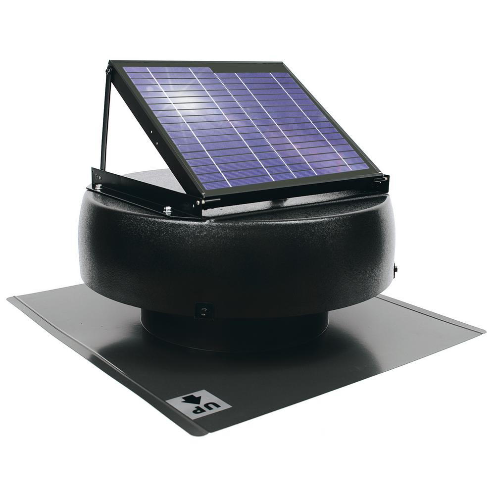 Us Sunlight 1000 Cfm 12 Watt Solar Powered Attic Fan 97329