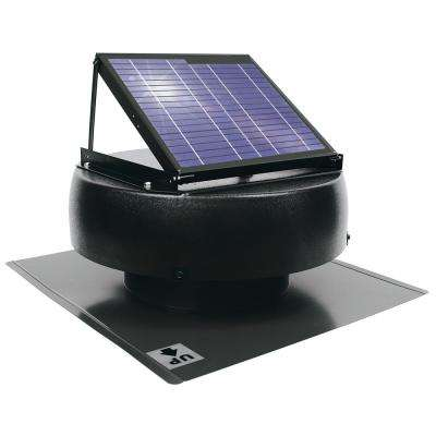 1000 CFM 12-Watt Solar Powered Attic Fan
