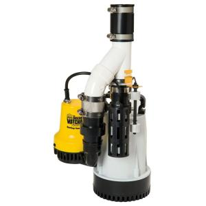 Basement Watchdog 1/3 HP Combination Unit with Emergency Backup Sump Pump System by Basement Watchdog