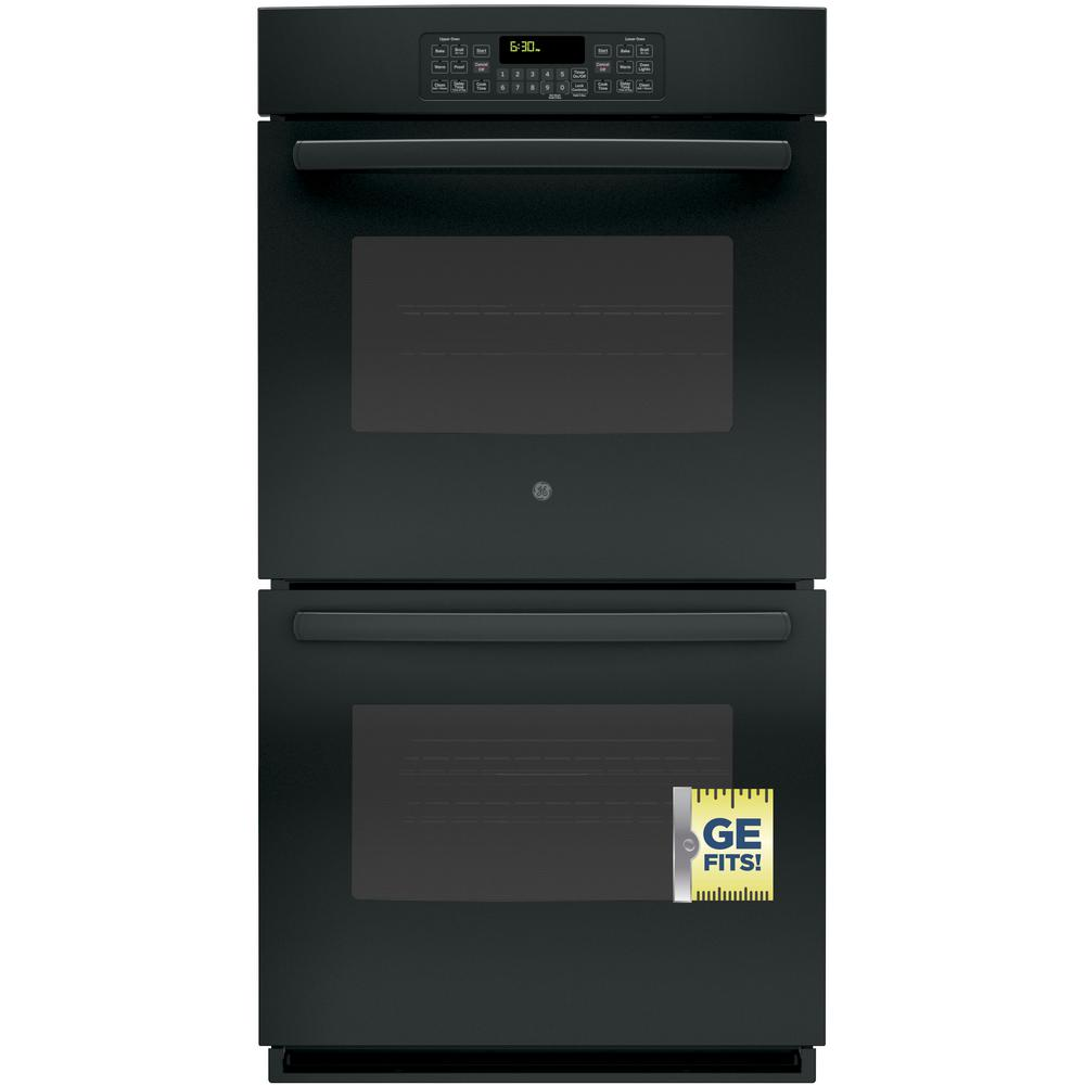 Ge 27 In Double Electric Wall Oven Self Cleaning With