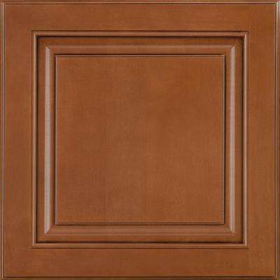 14-9/16x14-1/2 in. Cabinet Door Sample in Portola Maple Auburn Glaze