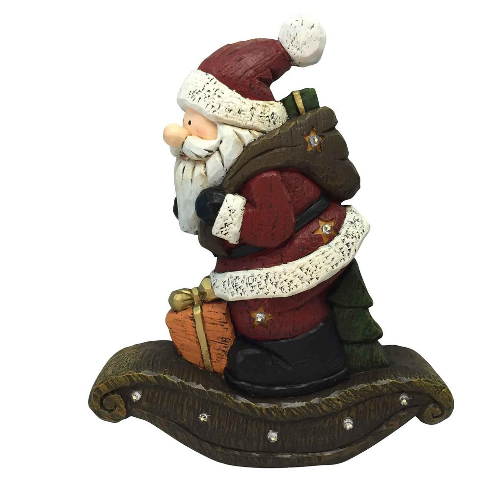 extraordinary christmas remarkable outdoor tall blow decorations decor santa animatronic mold claus