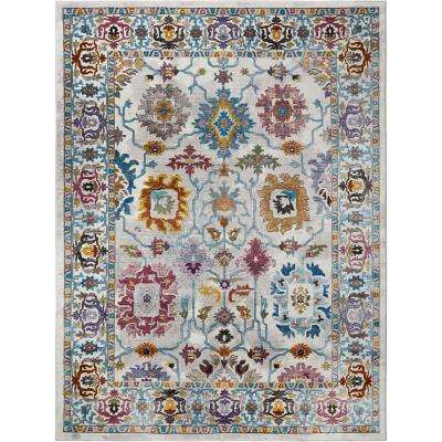 Parlin Naomie Ivory 9 ft. 2 in. x 12 ft. 5 in. Indoor Area Rug