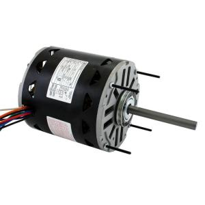 Century 3 4 hp blower motor d1076 the home depot for Furnace brook motors inventory