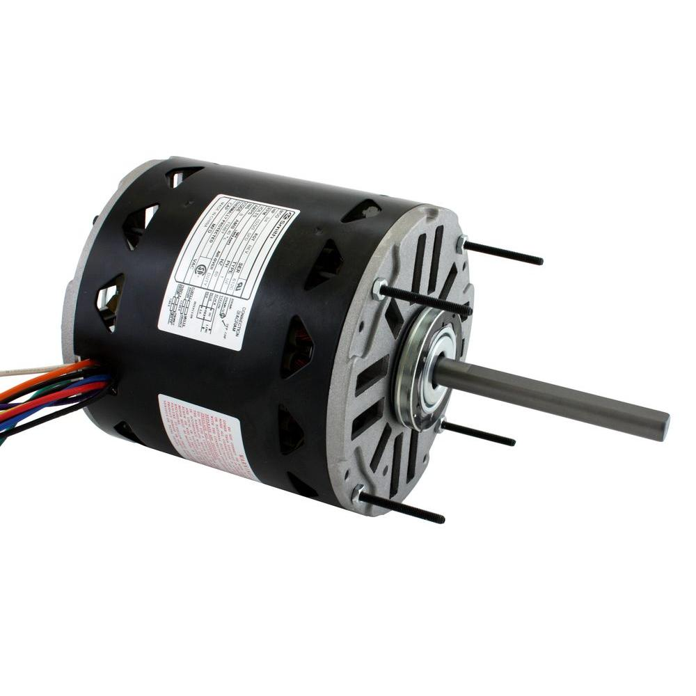 Century 3 4 Hp Blower Motor Dl1076 The Home Depot 120 Volt Wiring Diagram
