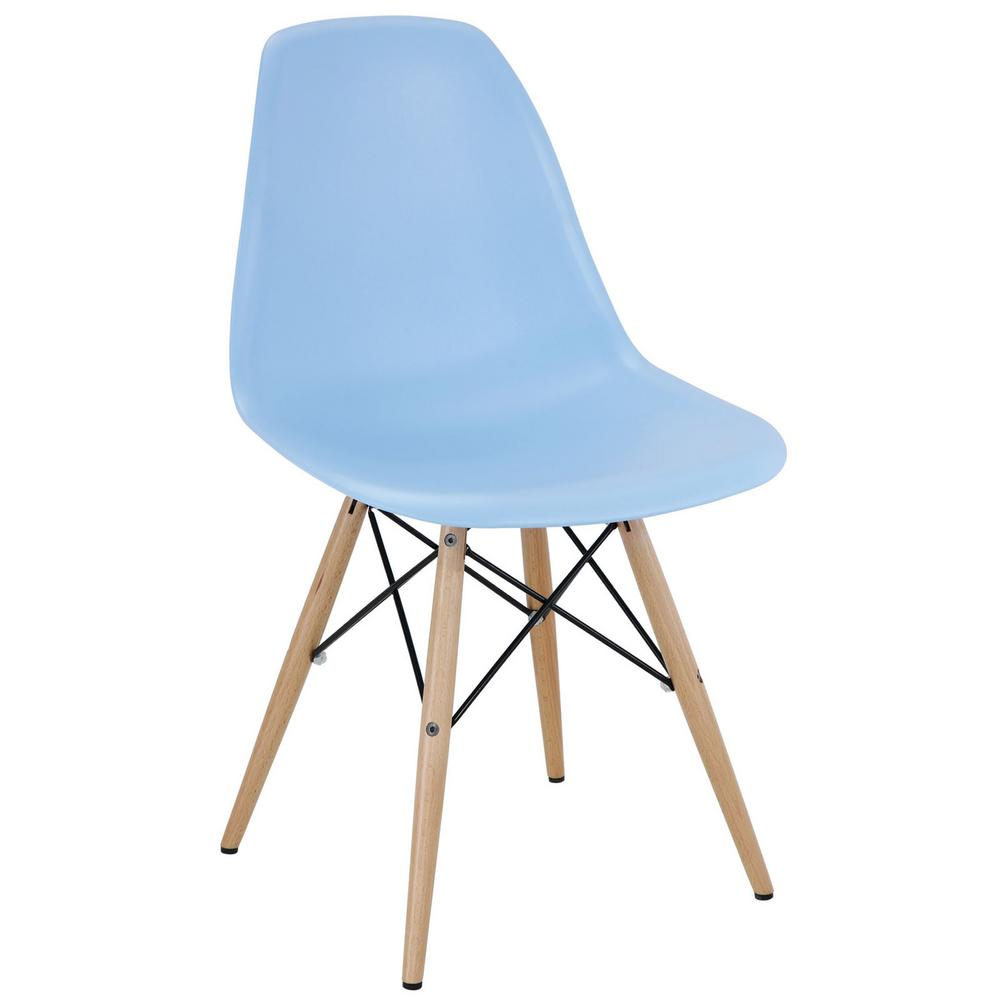 Pyramid Light Blue Dining Side Chair