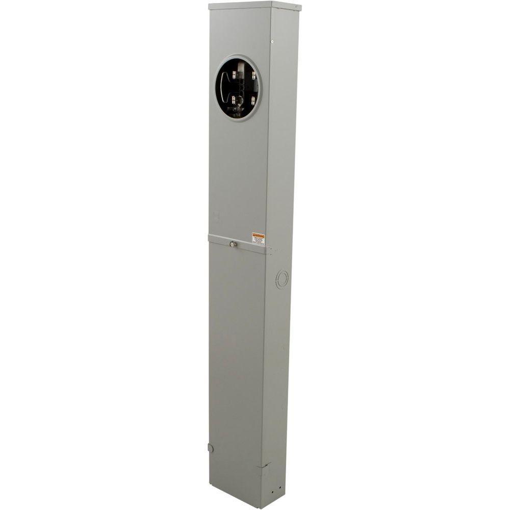 200 Amp Underground Pedestal Meter Socket