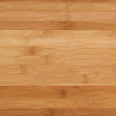 Take Home Sample - Horizontal Toast Click Lock Bamboo Flooring - 5 in. x 7 in.