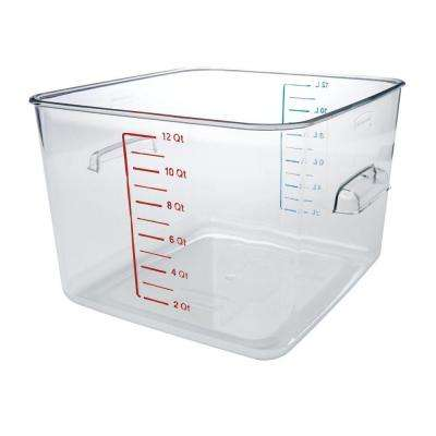 Space Saving Clear Square Container