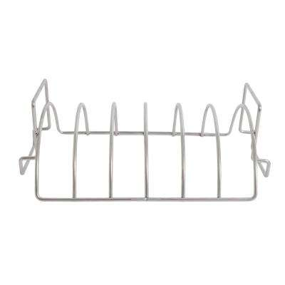 Reversible Six-Slab Rib Rack and Roasting Rack with Logo