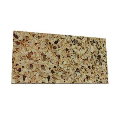 Peel and Stick Washed Gravel Shades Glass Wall Tile - 6 in. x 3 in. Tile sample