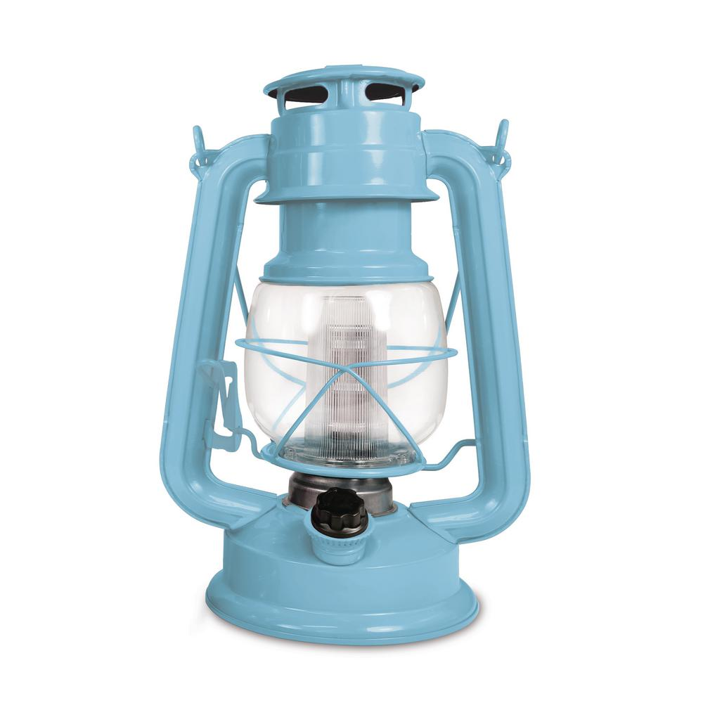150-Lumen Vintage Horizon Haze Battery Operated 12 LED Lantern