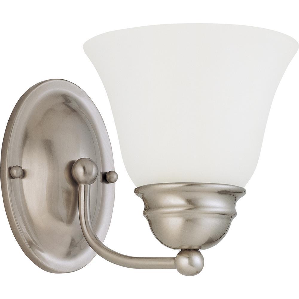 10.5-Watt Brushed Nickel Integrated LED Bath Light