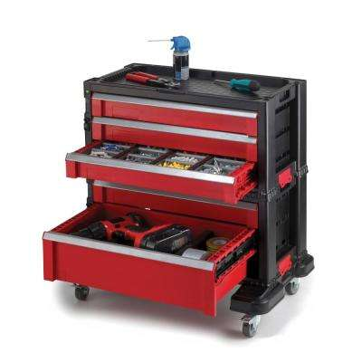 22 in. 5-Drawer Roller Cabinet Tool Chest System