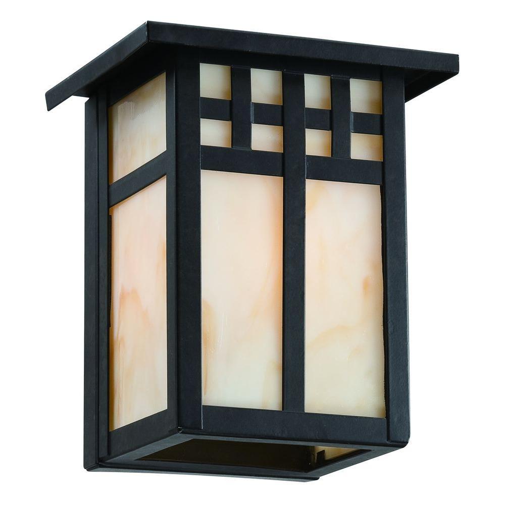 Coleville 1-Light Glendale Bronze Outdoor Wall Lantern