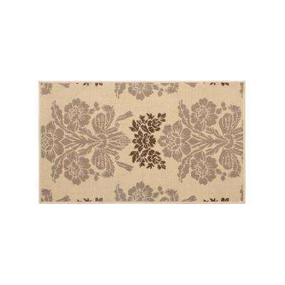 Tatton Taupe 3 ft. x 2 ft. Indoor/Outdoor Area Rug