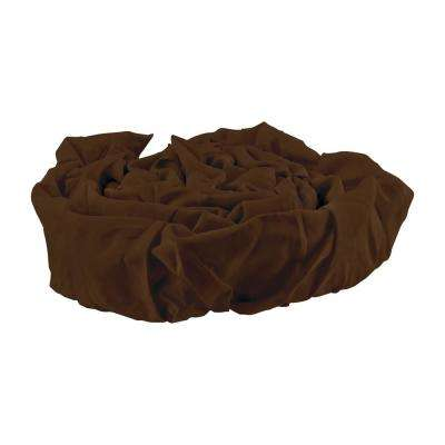 6 ft. Decor Fabric Cord Cover, Brown