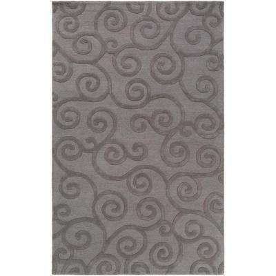 Poland Moore Gray 9 ft. x 13 ft. Indoor Area Rug