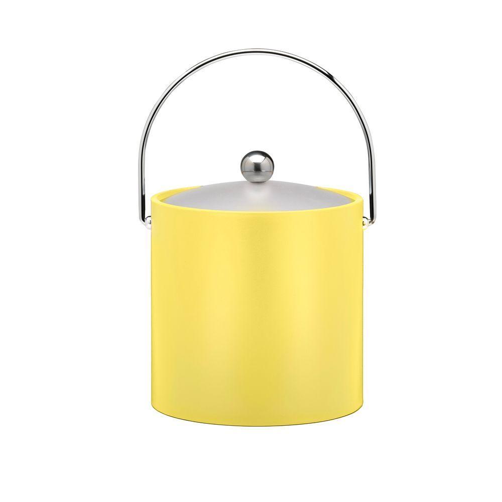 3 Qt. Insulated Ice Bucket in Lemon
