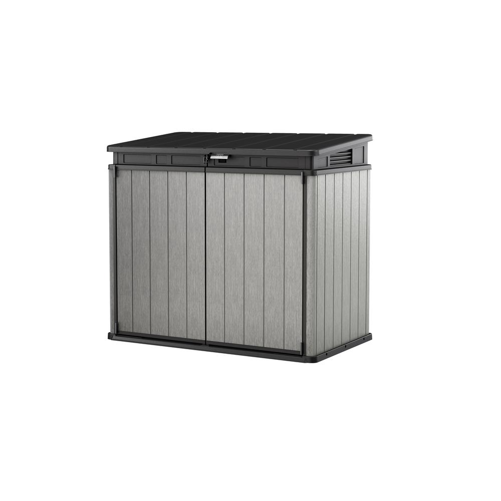 Keter Elite-Store 4.58 ft. x 2.67 ft. x 4.08 ft. Resin Horizontal Storage Shed