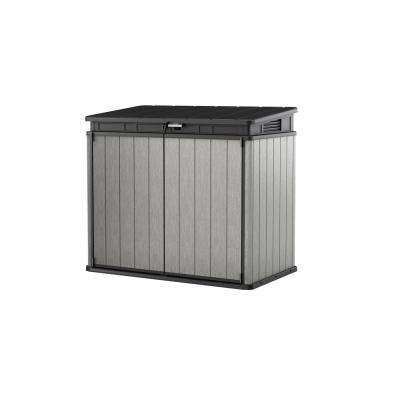 Elite-Store 4.58 ft. x 2.67 ft. x 4.08 ft. Resin Horizontal Storage Shed