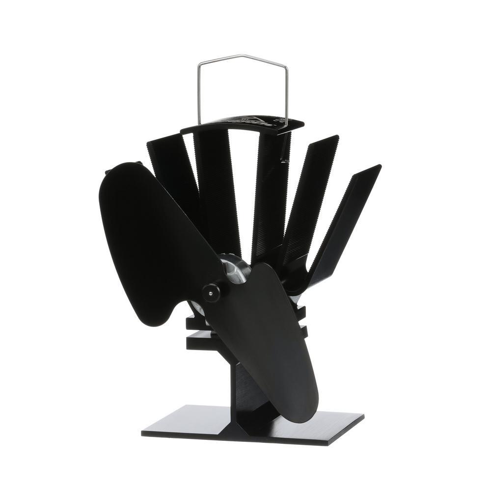 Original Mini Small Wood Stove Fan