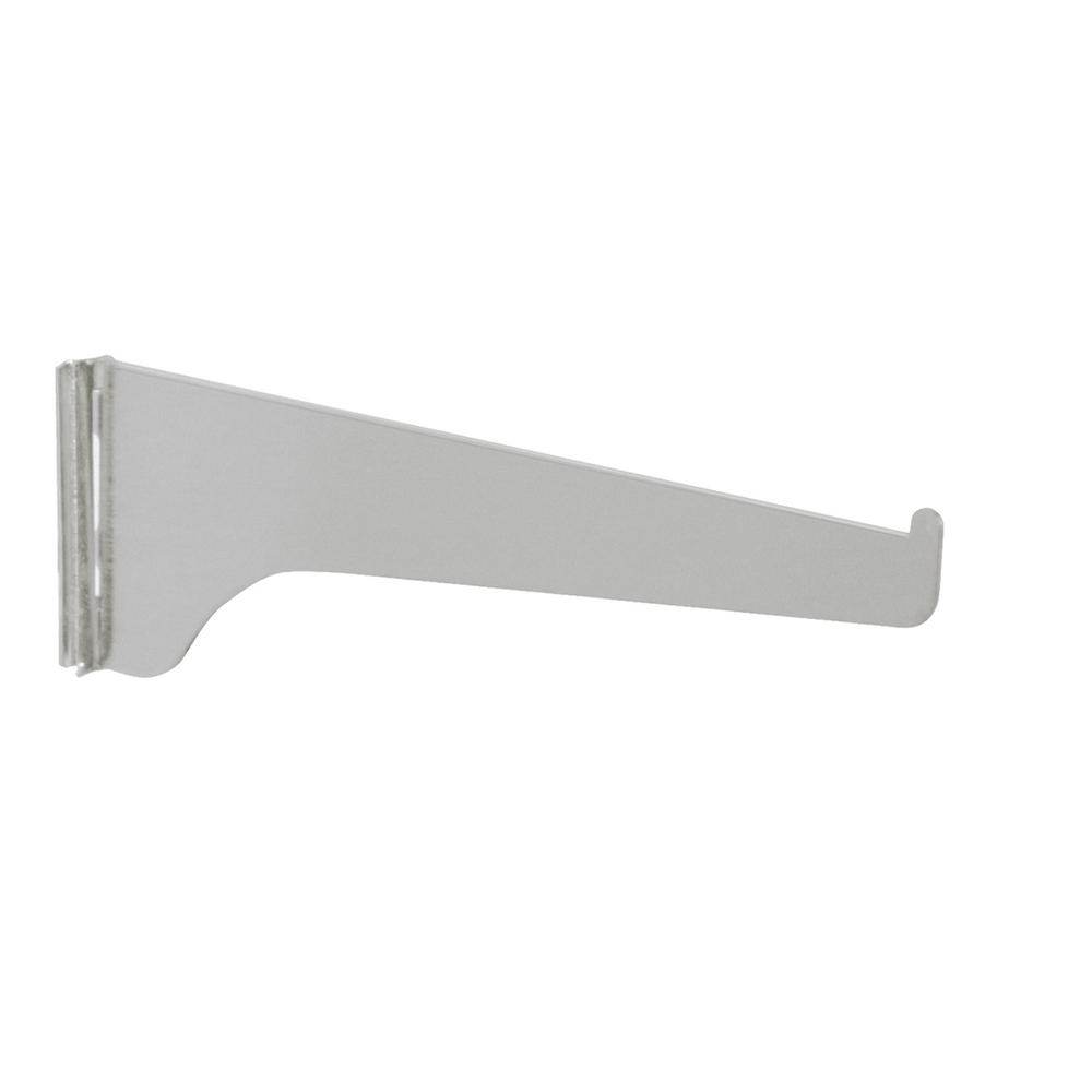180 Series 10 in. L Titanium Shelf Bracket
