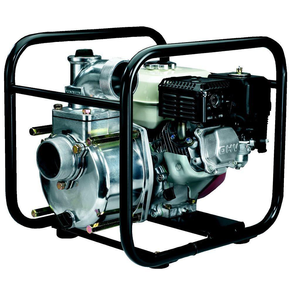 Koshin 3 in. 4.8 HP Semi-Trash Pump with Honda Engine