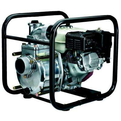 3 in. 4.8 HP Semi-Trash Pump with Honda Engine