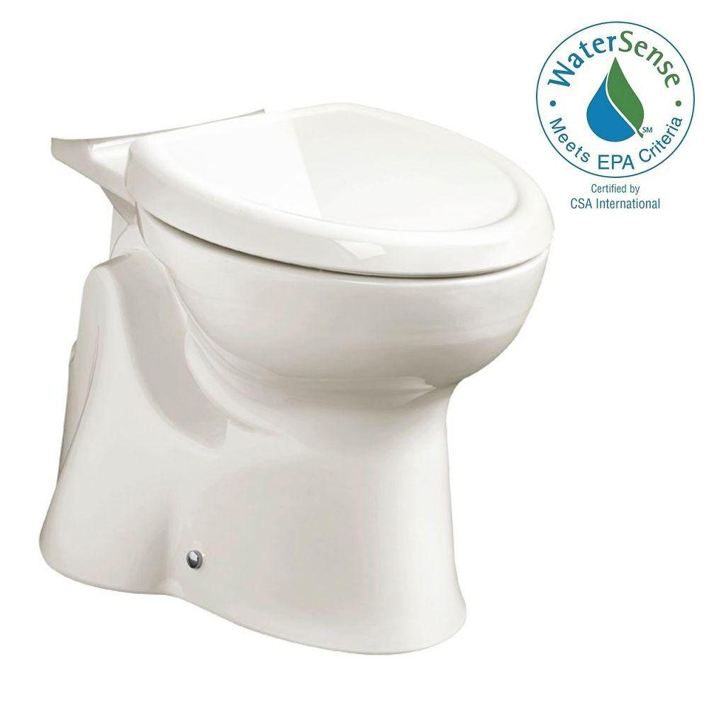 American Standard Accesspro Move Right Elongated Toilet Bowl Only in White