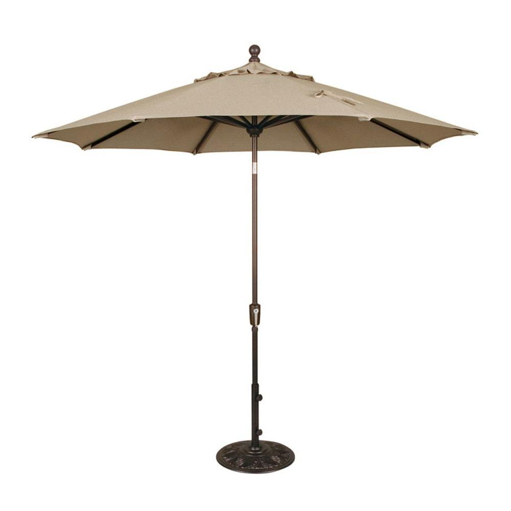 Swim Time Catalina 9 ft. Patio Umbrella in Beige-DISCONTINUED
