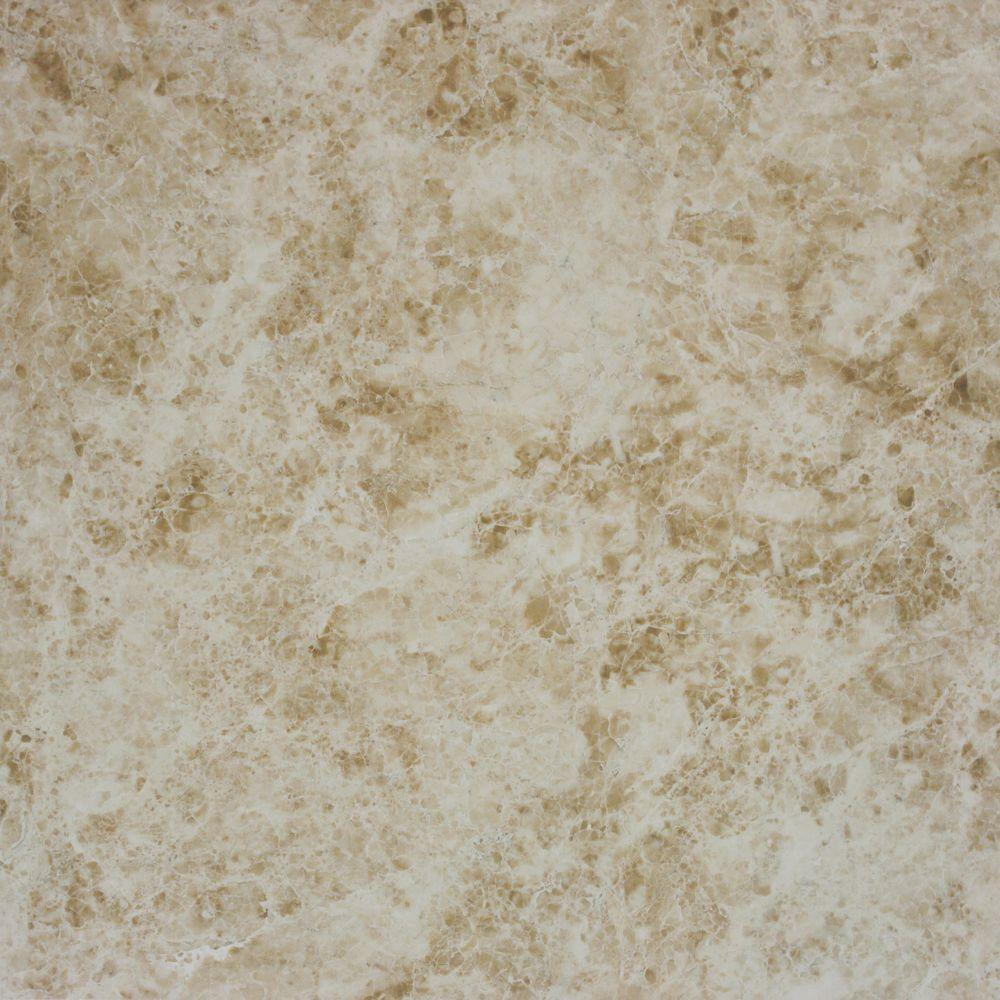 MS International Cappuccino Beige 12 in. x 12 in. Glazed Polished Porcelain Floor and Wall Tile (48 cases / 624 sq. ft. / pallet)
