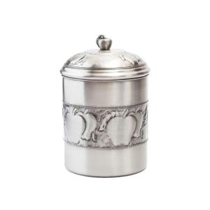 Click here to buy Old Dutch 4 qt. Antique Embossed Apple Cookie Jar with Fresh Seal Cover by Old Dutch.