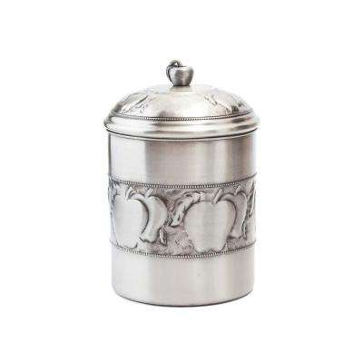 4 qt. Antique Embossed Apple Cookie Jar with Fresh Seal Cover