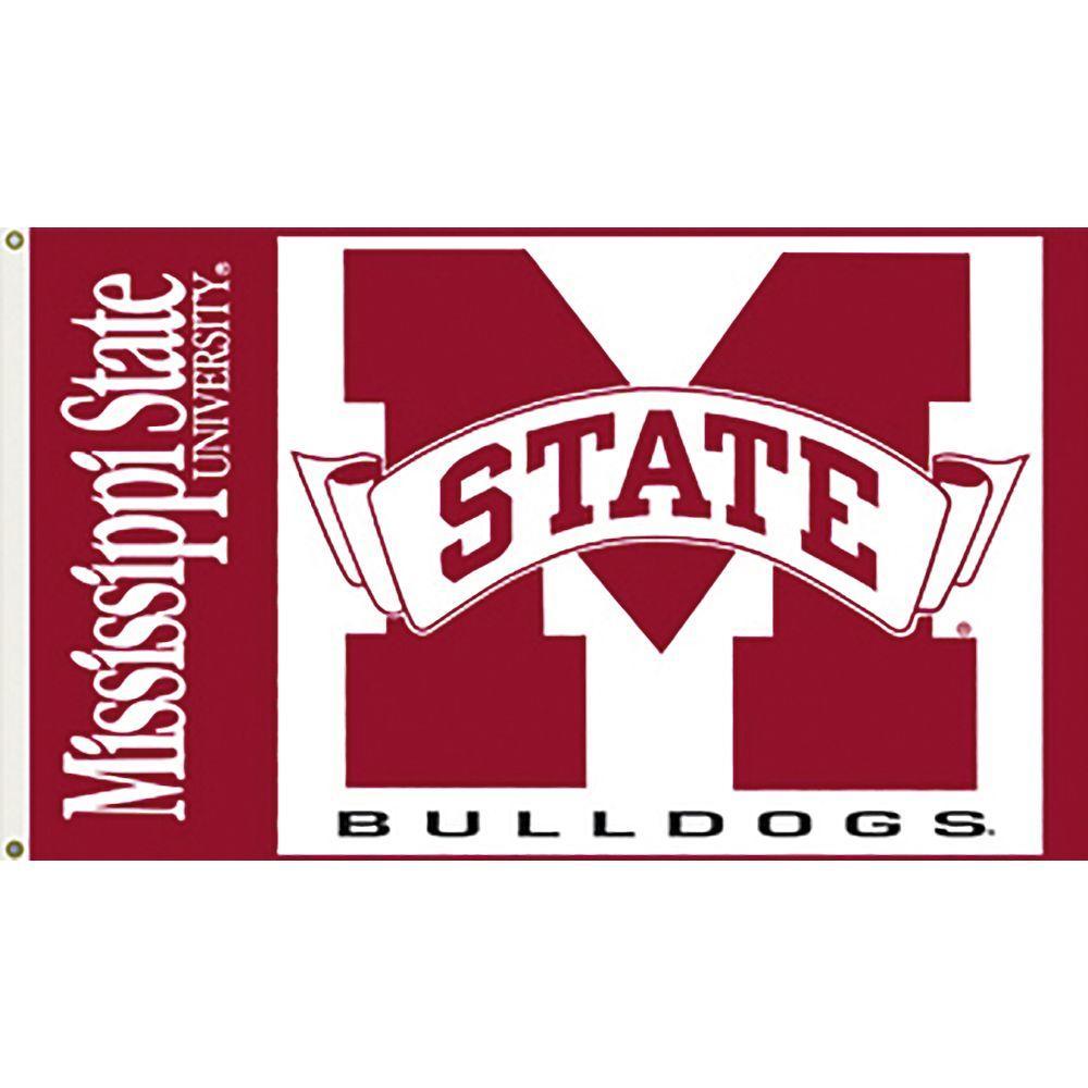 NCAA Mississippi State 3 ft. x 5 ft. Collegiate 2-Sided Flag