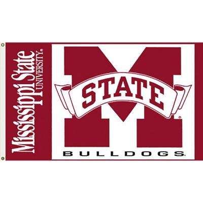 NCAA Mississippi State 3 ft. x 5 ft. Collegiate 2-Sided Flag with Grommets