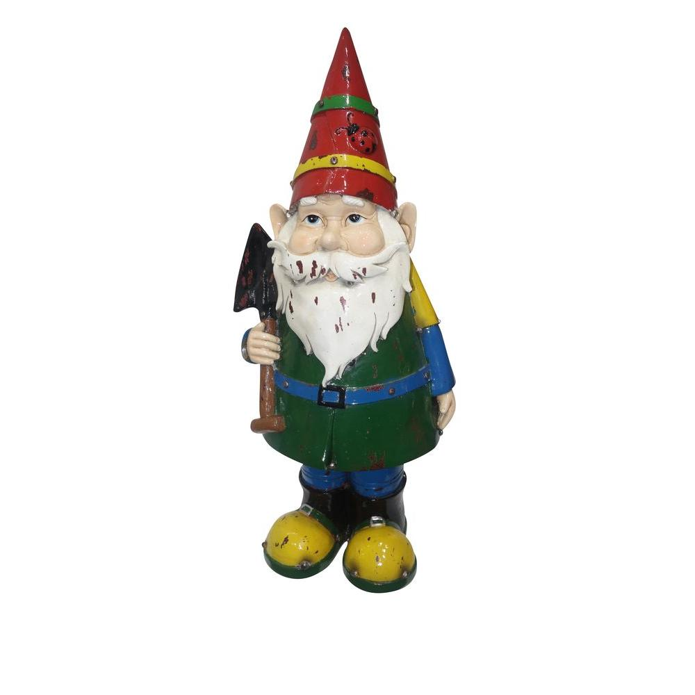 Alpine 18 In Multi Colored Gnome With Shovel Dxx102 The