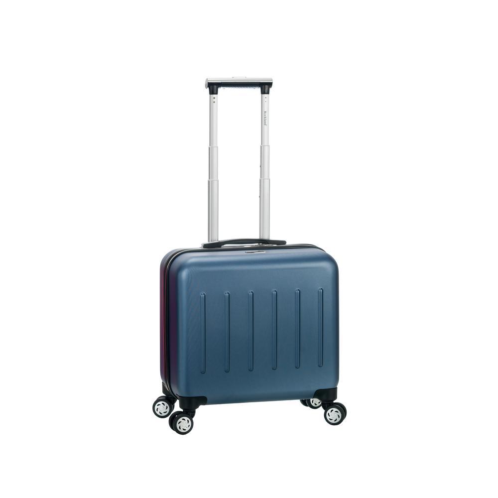 Rockland Pelican Hill Rolling Laptop Case Hardside,Blue