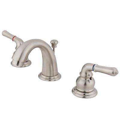 Brimfield 4 in. Minispread 2-Handle Bathroom Faucet in Satin Nickel