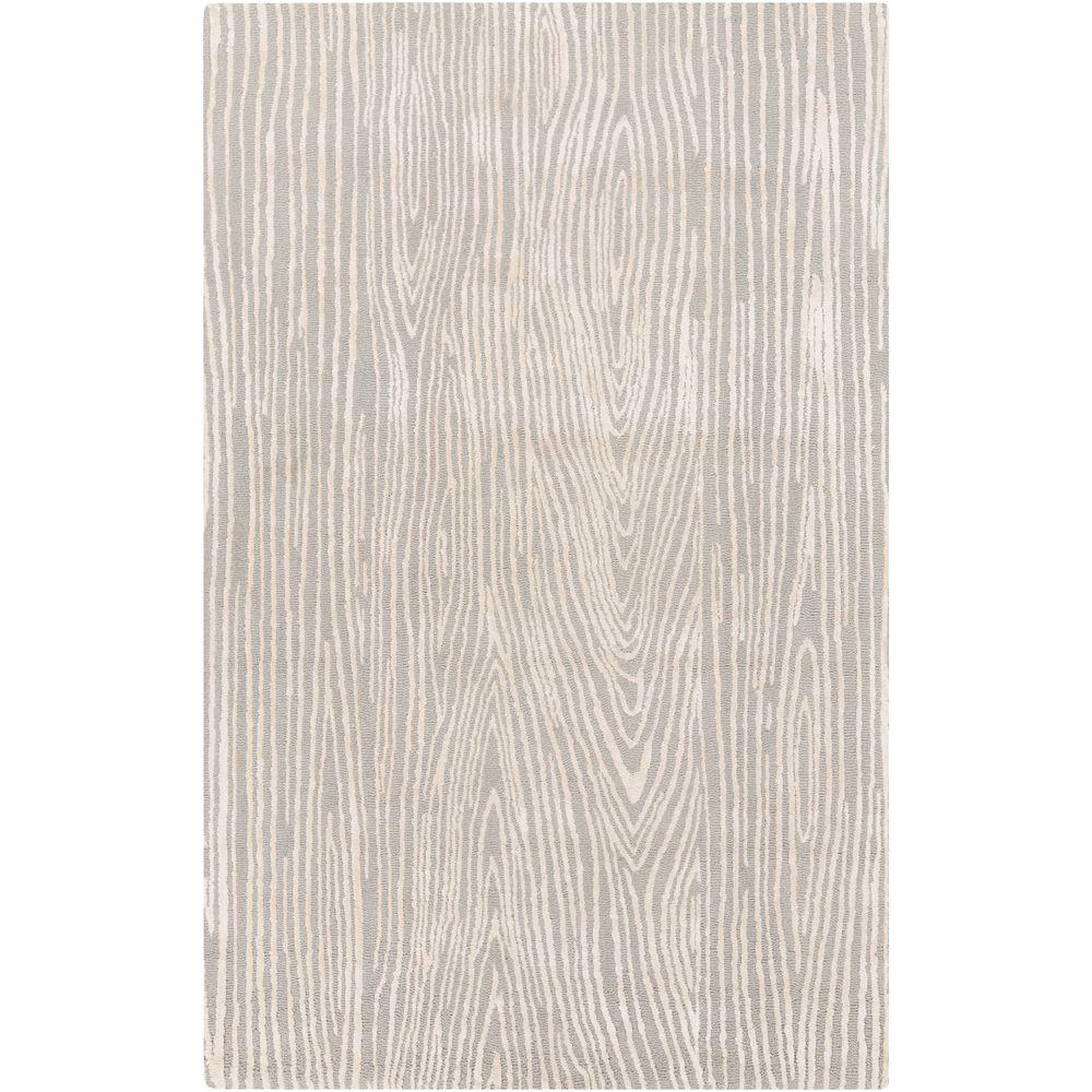 Rahotu Gray 3 ft. 3 in. x 5 ft. 3 in. Indoor Area Rug