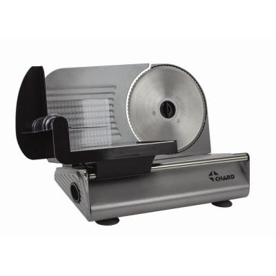150 W Black Stainless Steel Electric Food Slicer
