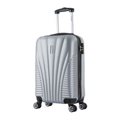 Chicago lightweight hardside spinner 21 in. carry-on-Silver