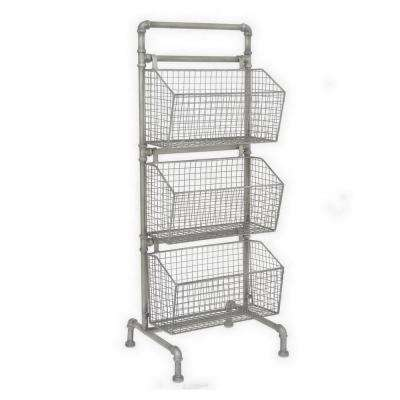 13.5 in. x 15.5 in. Storage Rack in Silver