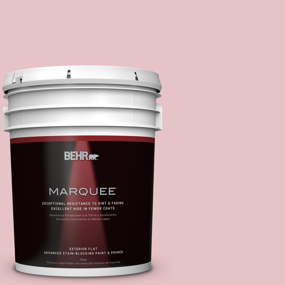 BEHR MARQUEE 5-gal. #S140-2 Cranapple Cream Flat Exterior Paint
