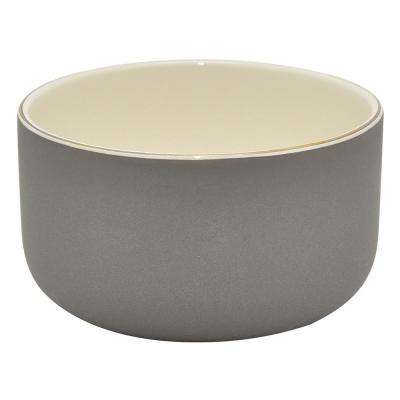 2.25 in. Gray Ceramic Bowl