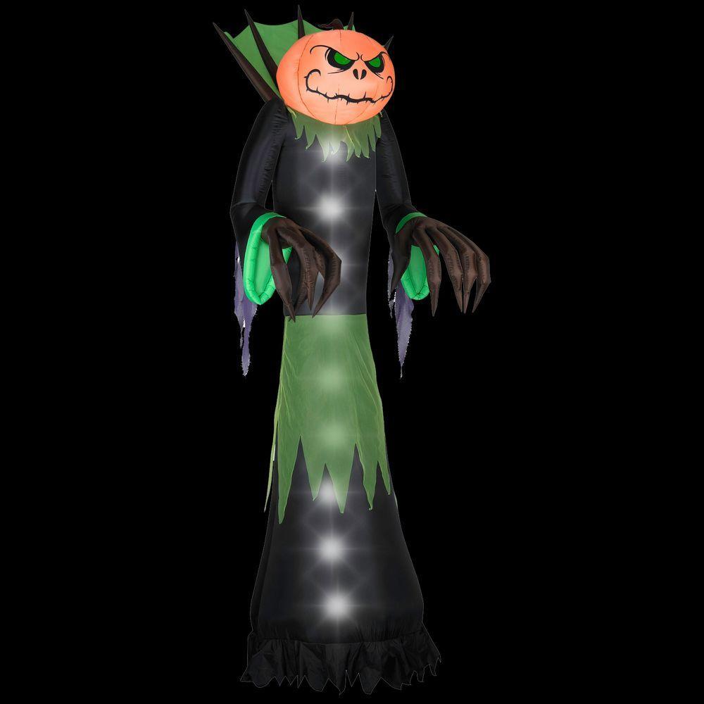 14 ft. Airblown Halloween Pumpkin Head Reaper