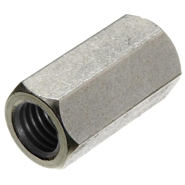 5//16-24 Rod Coupling Nut Stainless Steel 18-8 Extension Qty 10
